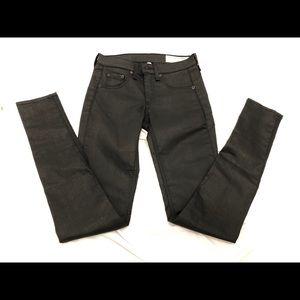 Rag & bone Black Leggings Jeans